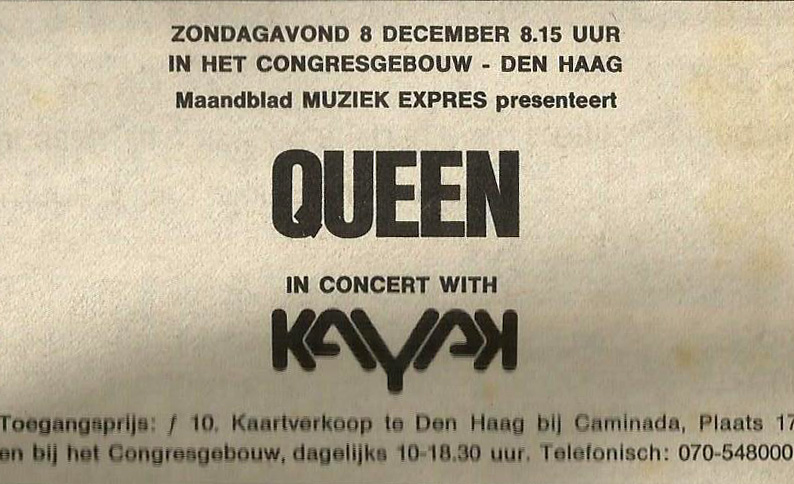 Queen in Hague on 08.12.1974