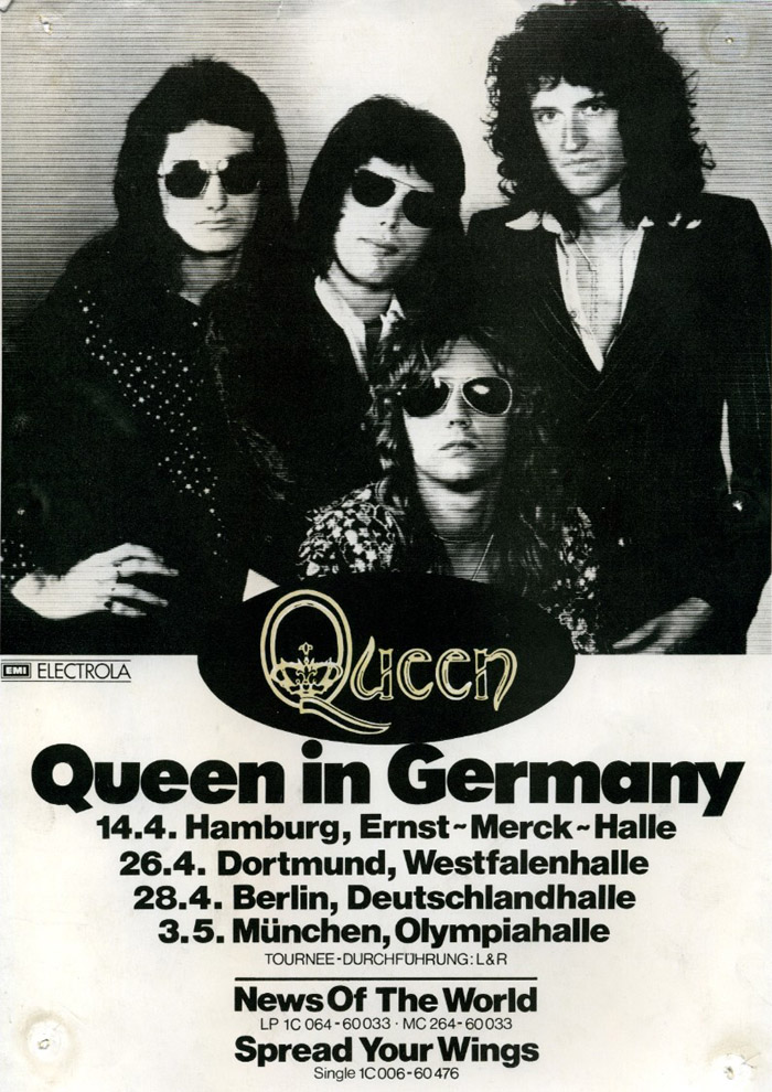 Queen in Germany in April/May 1978