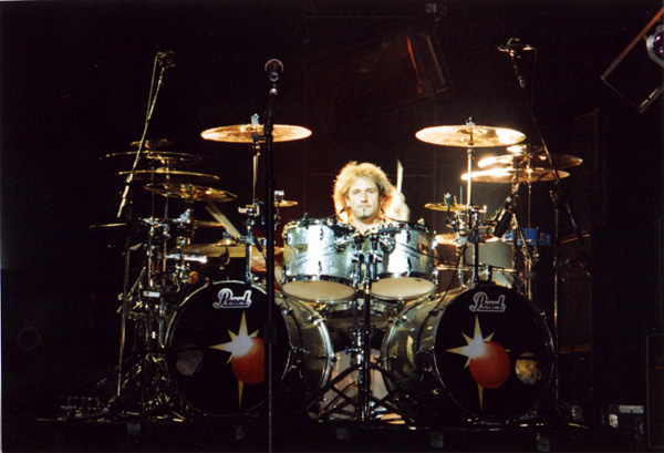Eric Singer's drums