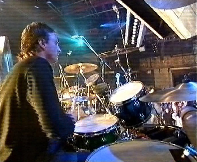 Keith Prior on drums