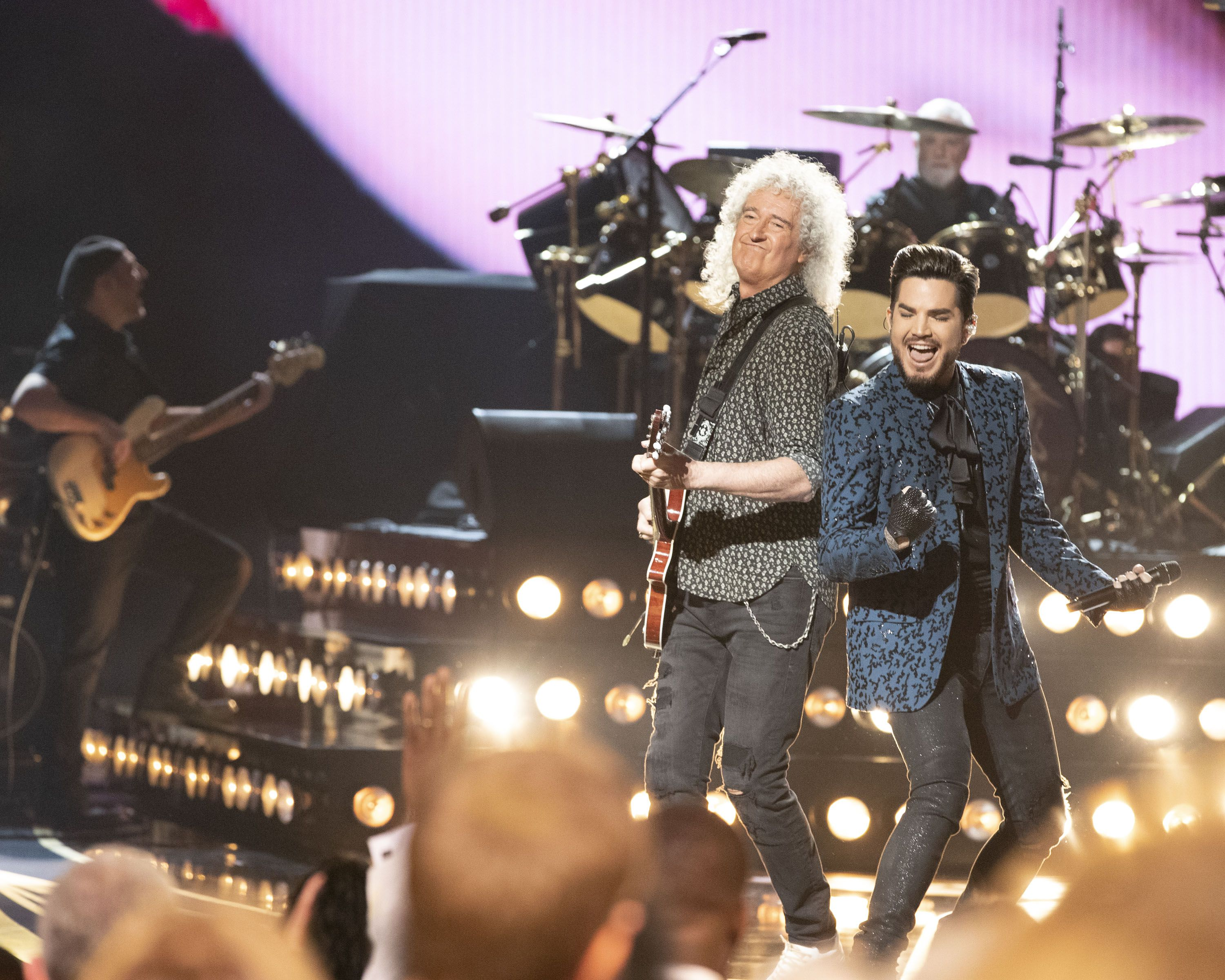 Queen + Adam Lambert at the 2019 Academy Awards