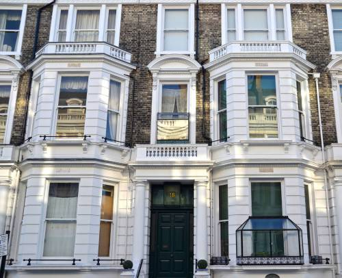 12 Stafford Terrace - Freddie's first flat