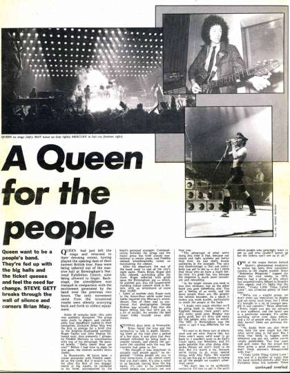 Newspaper review: Queen live at the City Hall, Newcastle, UK [03.12.1979]