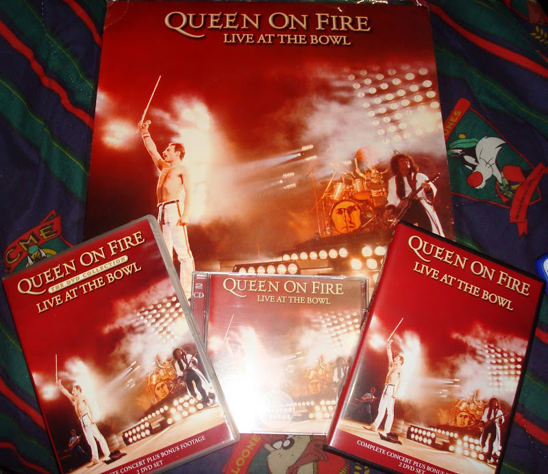 Queen - On Fire - Milton Keynes 1982