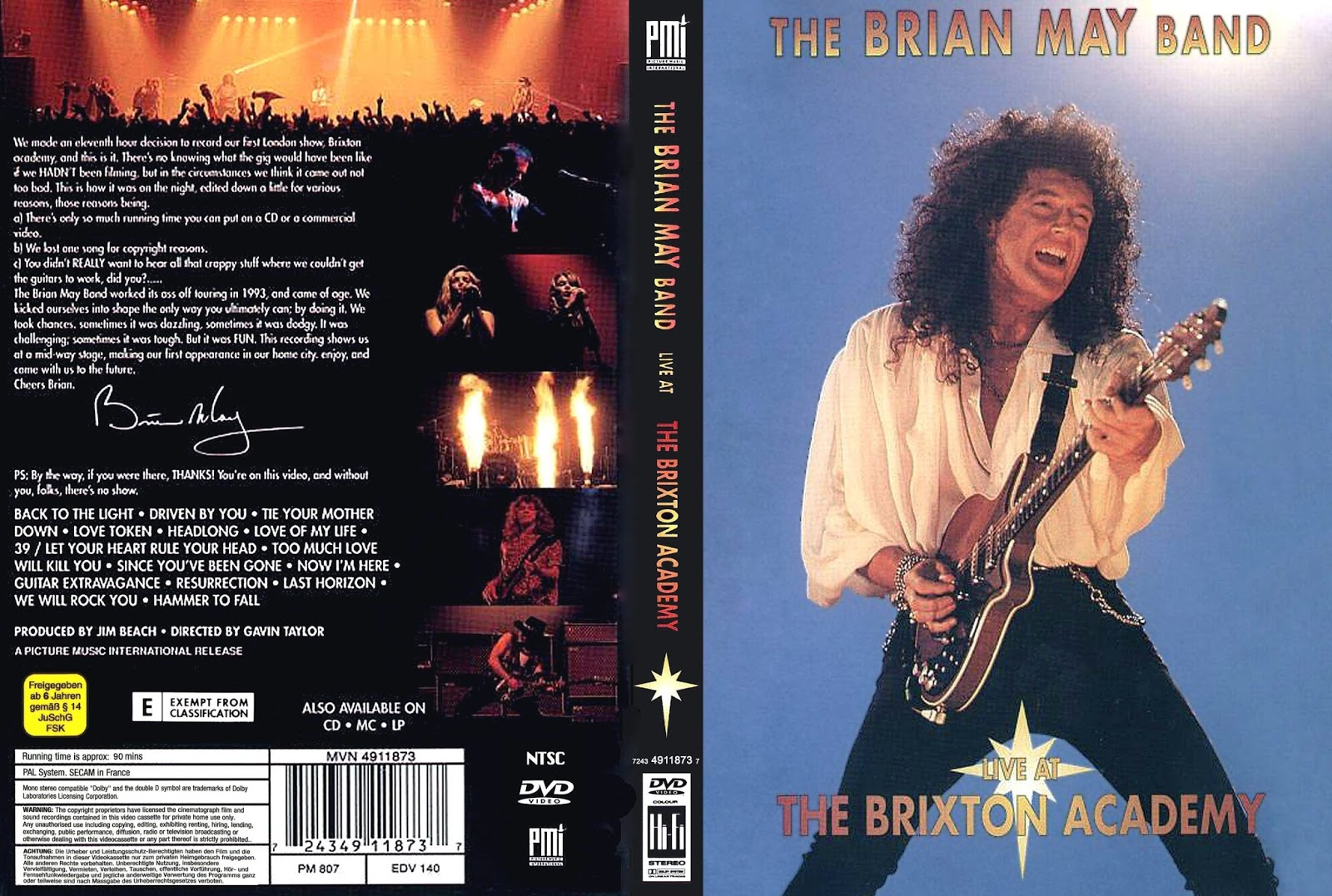 Brian May - Live At Brixton Academy 1993