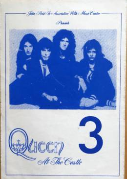 Pass for the Cardiff 1976 gig