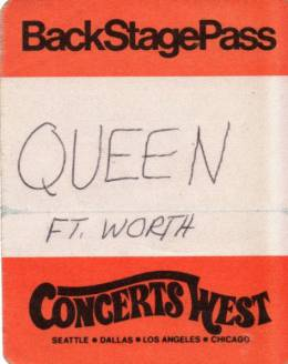 Forth Worth 10.12.1977 pass