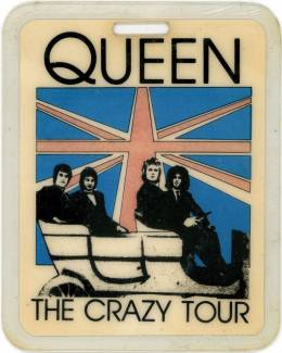 Crazy tour 1979 pass