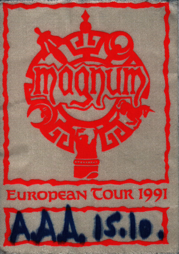 Munich 15.10.1991 all-areas-access pass