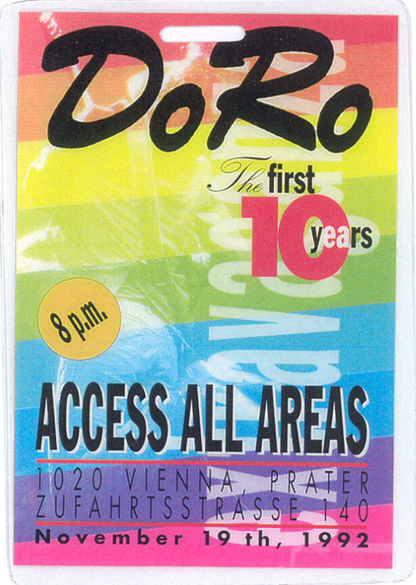 DoRo party (with Brian and Roger) pass