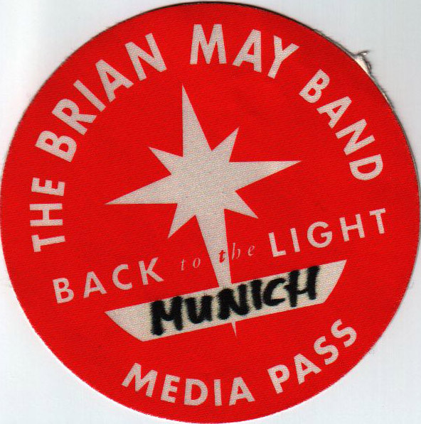 Munich 20.11.1993 media pass