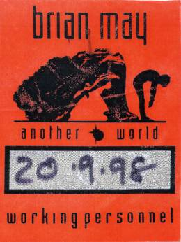 Brussels 20.9.1998 working personnel pass