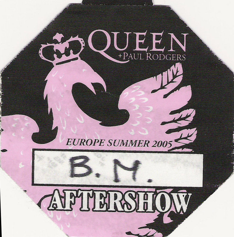 Arnhem 10.7.2005 afterparty pass