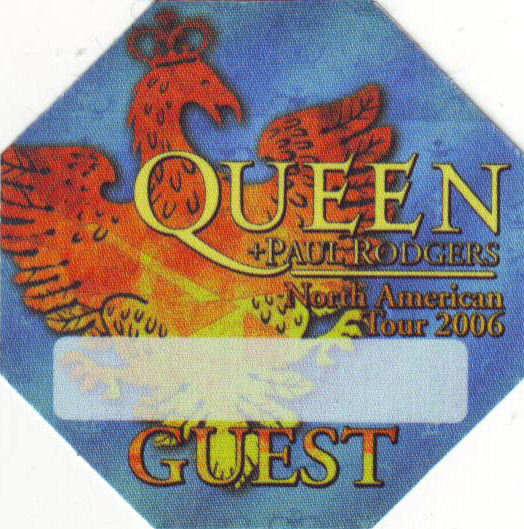 US tour 2006 guest pass