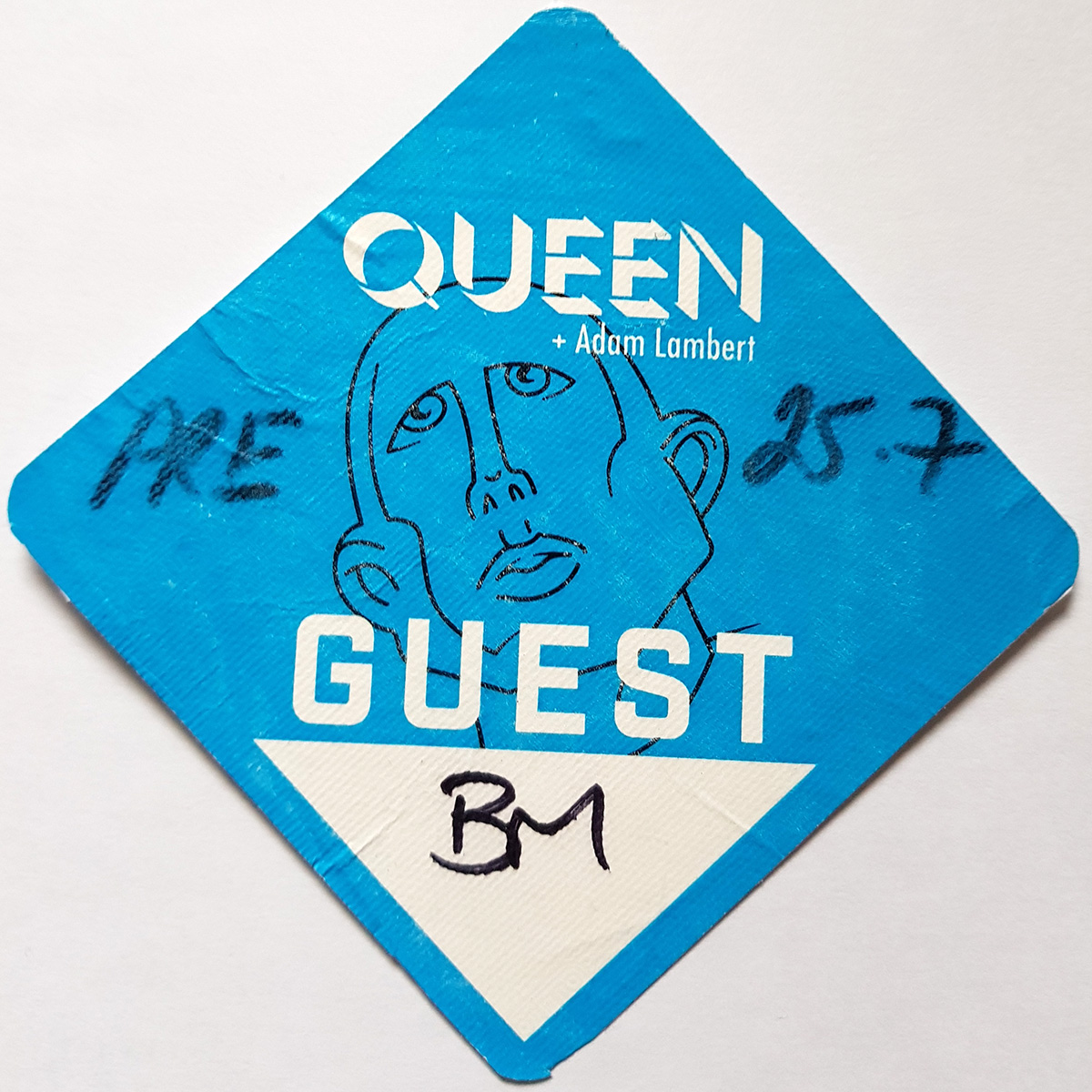 Boston 25.07.2017 guest pass