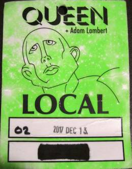 London 13.12.2017 local pass