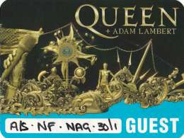 Guest pass for the Queen concert in Nagoya on 30.01.2020