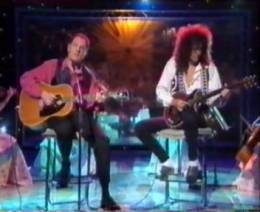 Guest appearance: Brian May live at the LWT Studios, London, UK (Richard Digance Show)