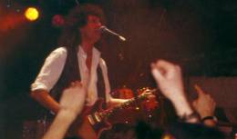 Concert photo: The Cross + Brian May live at the The Marquee Club, London, UK (Xmas party with special guests) [22.12.1992]