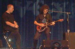 Guest appearance: Brian May live at the Wembley Exhibition Centre, London, UK (National Music Show)