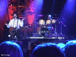 Guest appearance: Brian May + Roger Taylor live at the Marriott Marquis Hotel, New York, NY, USA (Songwriters Hall Of Fame)