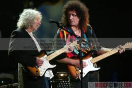 Guest appearance: Brian May live at the Wembley Arena, London, UK (Fender Stratocaster anniversary)
