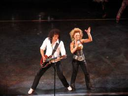Guest appearance: Brian May + Roger Taylor live at the Dominion Theatre, London, UK (1000th performance of the WWRY musical)