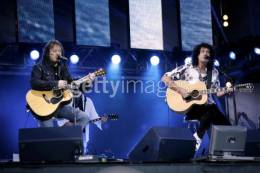 Guest appearance: Brian May live at the Fyllingen, Tromso, Norway (46664 festival)