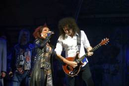 Guest appearance: Brian May + Roger Taylor live at the Dominion Theatre, London, UK (WWRY musical)