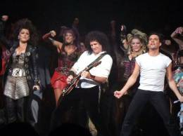 Guest appearance: Brian May live at the Dominion Theatre, London, UK (WWRY musical)