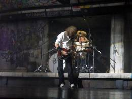 Concert photo: Brian May + Roger Taylor live at the Dominion Theatre, London, UK (WWRY musical (8th anniversary)) [10.05.2010]