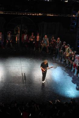 Concert photo: Brian May live at the Theater des Westens, Berlin, Germany (WWRY musical premiere) [21.10.2010]