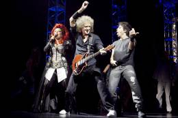 Guest appearance: Brian May live at the Folketeatret, Oslo, Norway (WWRY musical)