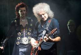 Guest appearance: Brian May live at the Hippodrome, Birmingham, UK (WWRY musical)