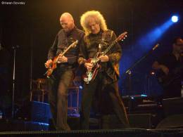 Concert photo: Brian May live at the The Orange College Hall Officers Mess, Cranwell, UK [16.07.2011]