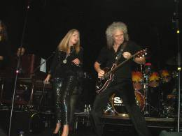 Concert photo: Brian May live at the Clapham Grand, London, UK (with SAS Band at the Freddie Mercury Tribute concert) [25.11.2011]