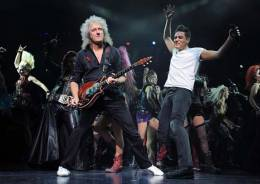 Guest appearance: Brian May live at the Playhouse Theatre, Edinburgh, UK (WWRY musical (Gala Performance in aid of the Mercury Phoenix Trust))