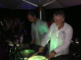 Guest appearance: Roger Taylor live at the Mike Rutherford's house, Loxwood, UK (Christmas party)