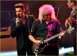 Guest appearance: Queen + Adam Lambert live at the iHeartRadio Theater, Los Angeles, CA, USA (iHeartRadio Music Festival)