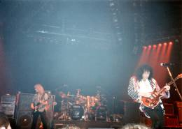 Concert photo: Brian May live at the Playhouse Theatre, Edinburgh, UK [04.06.1993]