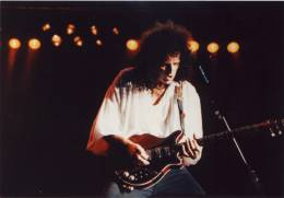 Concert photo: Brian May live at the Ahoy Hall, Rotterdam, The Netherlands [21.06.1993]