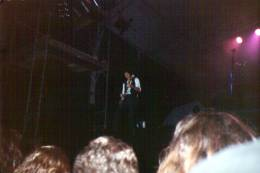 Concert photo: Brian May live at the Steinberggasse, Winterthur, Switzerland [12.09.1993]