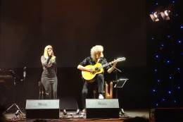 Concert photo: Brian May live at the Kongresove centrum, Prague, Czech Republic [08.03.2016]