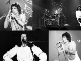 Concert photo: Queen live at the Moody Coliseum, Dallas, Texas, USA [25.02.1977]