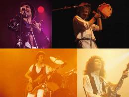 Concert photo: Queen live at the Maple Leaf Gardens, Toronto, Canada [21.11.1977]