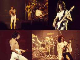 Concert photo: Queen live at the Sports Arena, San Diego, California, USA [16.12.1977]