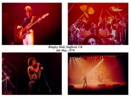 Concert photo: Queen live at the New Bingley Hall, Stafford, UK [06.05.1978]