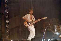 Concert photo: Queen live at the Forest National, Brussels, Belgium [21.09.1984]