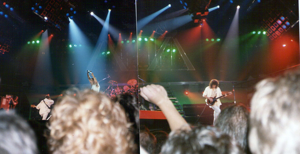 Photo: 11.06.1986 - Queen live at the Groenoordhallen, Leiden, The Netherlands