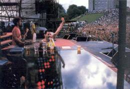 Concert photo: Queen live at the Slane Castle, Slane, County Meath, Ireland [05.07.1986]
